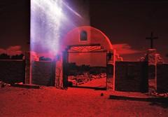 Mission, NM (cestlameremichel) Tags: new mexico redscale red film 35mm analog analogue analogica nouveau mexique santa fe pueblo native america usa roadtrip 666 agfa vista plus 200 filmisnotdead