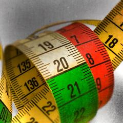 today (Uniquva) Tags: macromondays multicolor measuringtape numbers measure loop cm red green yellow