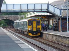 150221 Par (1) (Marky7890) Tags: gwr 150221 class150 sprinter 2c51 par railway cornwall cornishmainline train