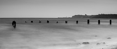 Distant Whitby Abbey ([CamCam]) Tags: whitbey whitby abbey ruins ruin cliff pier se lighthouse light house
