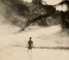 Two Rivers (Giovanni Savino Photography) Tags: pictorialism wollastonlens meniscus papernegative boy water river dominicanrepublic magneticart ©giovannisavino