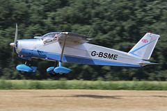 G-BSME (QSY on-route) Tags: gbsme old timer fly drive in 2018 schaffen diest ebdt 12082018