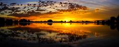 Sunrise - Waneka Lake Park - Lafayette, Colorado (Bernie Duhamel) Tags: wanekalake wanekareservoir wanekalakepark colorado frontrange greatphotographers teamsony rockymountains bernie duhamel sonya7riii sony2470mm lafayette reflection sunrise sunshine sun clouds morning water sky