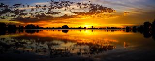 Sunrise - Waneka Lake Park - Lafayette, Colorado