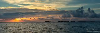 Panorama Grevelingen Sunset