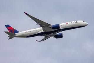 N501DN Delta Air Lines Airbus A350-900 Amsterdam Schiphol