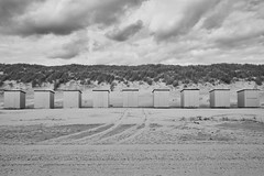 The beach (Stijn Daniels) Tags: zeeland burghhaamstede nederland netherlands holland neeltje jans fuji fujifilm xphotographer xseries xf18 xf18f20 xt20 cabin blackandwhite black white zwartwit zwart wit landscape monochrome
