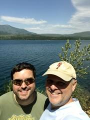 Made It! - Glacier Selfie (TagDragon) Tags: park selfie lake roadtrip vacation nps 2018 nationalparkservice glaciernationalpark