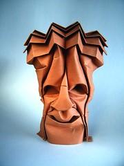 Ethnic Mask (Rui.Roda) Tags: origami papiroflexia papierfalten masque máscara étnica ethnic mask