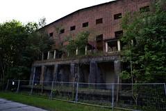 Ruine der Sauerstofffabrik (Triple-green) Tags: 2018 21mm baltic fujifilm fujifilmxpro1 manuallens ostsee peenemünde prime qbm rolleinarmc421 ruine urbex usedom