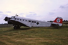 Junkers 52 CVT 30-05-1988 (cvtperson) Tags: junkers 52 coventry cvt egbe
