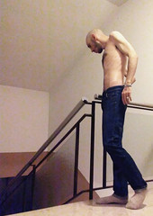 LUPBID12098018DFG4 (Evgenij Nikolaev) Tags: lupin4th male model hot skinny boy hairy blue jeans white socks chest skinhead lascar scally slav alpha master