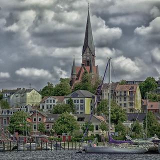 Blick auf St. Jürgen - Flensburg