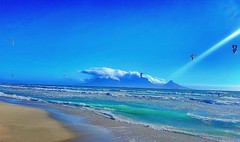 blue hue (heatgirlrvd) Tags: sea blue water church cape town spice route travel trees road dreams sand beach house rocks wine vineyard clouds sky