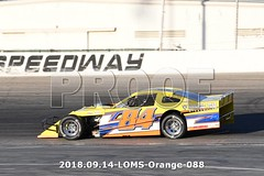 LOMS-Orange-088 (PacificFreelanceMotorsports) Tags: loms speedway racing modifieds lucasoil