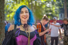 C1005135 (sswee38823) Tags: kingrichardsfaire kingrichardsrenaissancefaire kingrichard kingrichards king renfaire renaissancefestival reenactment renaissance renfest ren festival kingrichardsrenaissancefaire2018carverma 2018 faire portrait portraits people costume face faces carverma carver ma massachusetts newengland bluehair woman women youngwoman pretty beautiful cute smile aposummicron50mmf2 aposummicron aposummicron50 aposummicronm1250asph apo leicaapo502 leicaaposummicronm50mmf2asphfle leicaaposummicronm50mmf2asph leicaaposummicronm50mmasph 50mm 50 50aposummicron leica50apo summicron50mmapo summicron50mm summicron leica leicam leicacamera m10 leicam10 leicacameraagleicam10