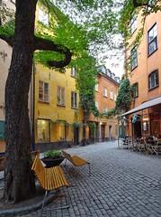 Old town Stockholm (sabinebeu) Tags: sabinebeu sightseeing lasuede sweden cityscapes city town oldtown gamlastan stockholm