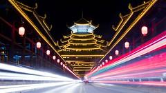 Sanjiang Bridge (Crossing China) Tags: 中国 广西 三江 程阳八寨 china guangxi asia earth river nature people street longexposure night lowlight sunset village chengyang