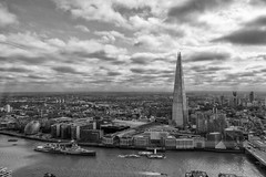 The Shard, London (dlsmith) Tags: shard london southbank southwark monochrome monochromatic