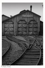 Poway CA railroad Museum (bryanasmar) Tags: ngc leica m240 zeiss sonar 5015 zm poway ca railroad museum bw blackandwhite art geographic national