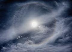 22° Solar Halo (ikewinski) Tags: sun solarhalo 22degreehalo 22°halo 22°solarhalo