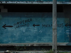 Periférico Infinito (arielramos270) Tags: hot tampico mexico oldbuilding dirt isleta riopanuco ghost morning old car blue river riverpanuco