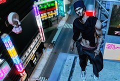 City of blinding lights (Isaac.Taur) Tags: ultra event mom dubai gabriel chucksize chuck size blogger male blog second life stray dog dappa fli hipster style new release events sl credits fashion