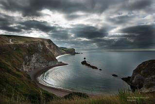 St. Oswald bay, Dorset, UK