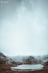 Lago Ercina XV (Álvaro Hurtado) Tags: nikon d7200 sigma naturaleza nature paisaje landscape asturias españa spain oviedo monte mount montaña mountain lagos lakes covadonga picos europa ercina niebla fog mist árboles trees agua water nubes clouds