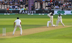 End of the Innings (Treflyn) Tags: sam curran encouraging knock innings end ravichandran ashwin first day 1st fourth 4th test cricket match england india hampshire ageas rose bowl bowled 78