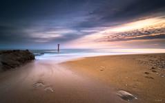 LA BARRE D'ETEL (Soregral) Tags: longexposure paysage ciel nuages brittany nuage poselongue techniquephoto bretagne lumière leverdesoleil leefilter