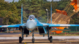 Ukraine Air Force Sukhoi Su27 58