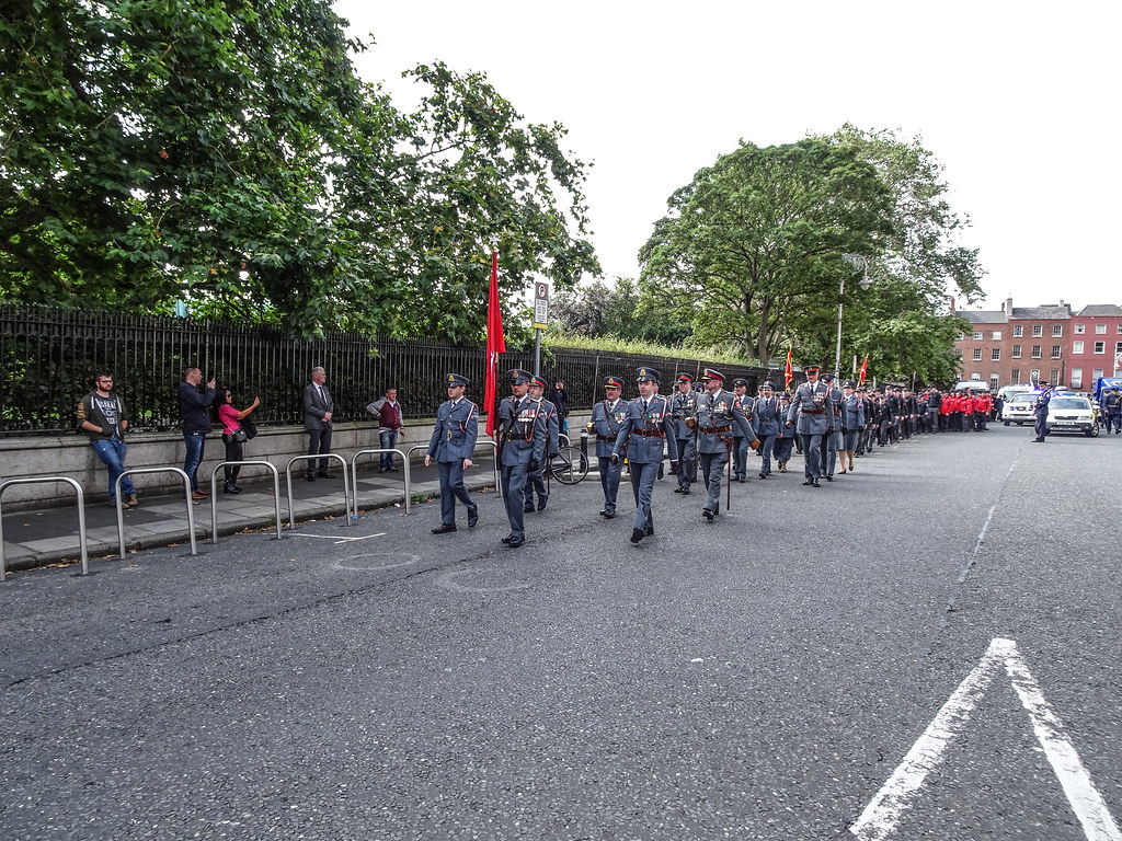 NATIONAL SERVICES DAY [PARADE STARTED OFF FROM NORTH PARNELL SQUARE]-143633