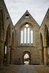 Royal Garrison Church - view from chancel to nave (quietpurplehaze07) Tags: royalgarrisonchurch nave chancel noroof bomb 1941