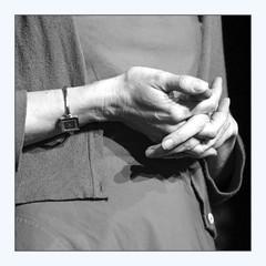 a writer's hands (overthemoon) Tags: switzerland suisse schweiz svizzera romandie vaud morges portrait hands square frame bw clairegenoux writer shadows