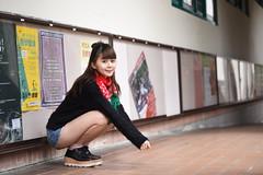 蕙羽1043 (Mike (JPG直出~ 這就是我的忍道XD)) Tags: 小羽 台灣大學 鍾蕙羽 june nikon d750 model beauty 外拍 portrait 2017