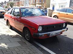 1979 Datsun 140Y Sunny (Neil's classics) Tags: vehicle 1979 datsun 140y sunny