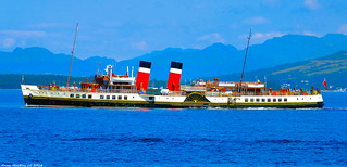 Scotland West Highlands Argyll the paddle steamer Waverley 26 July 2018 by Anne MacKay
