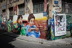 Street art in Athens (Adrià Páez) Tags: street art athens greece ellada europe balkans city capital kids children videogames game pad canon eos 7d mark ii is this modern society jupiterfab