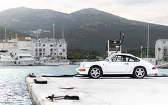 Porsche 911 964 Carrera 4 (MrYLT) Tags: porsche 911 964 carrera 4 white