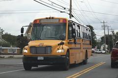 Mid-City Transit Corp. #268 (ThoseGuys119) Tags: midcitytransitcorp middletownny schoolbus icce thomasbuilt freightliner saftliner c2 fs65 tintedwindows