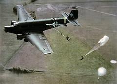 Ju 52 airborne JEC 00548 (ww2color.com) Tags: junkers ju52 luftwaffe airborne