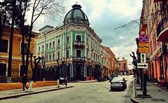 20110416 Historic streets ([Ananabanana]) Tags: nikon d40 gimp photoscape 1855mm 1855 nikkor nikon1855mmkitlens nikkorafsdx1855mm nikonafsdx1855mm nikkor1855mm nikon1855mm nikonistas nikonista chernitsvi чернівці́ cernăuți czernowitz czerniowce csernovic черновцы́ чернови́цы ukraine ukrainian historic architecture streets city european europe