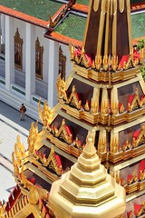 The wandering photographer (leewoods106) Tags: lohaprasat watratchanatdaram bangkok temple buddhism buda religion gold iron red photographer orange white thailand thai capitalcity greatcity city capital