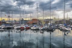 Port A Coruña (danilob1) Tags: port boats reflection danilobruschi spain galicia acoruña storm clouds city seascape