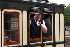 All aboard! (twm1340) Tags: 2018 beamish museum county durham england uk train steam railroad railway hudswell clarke 060 bsc 1938