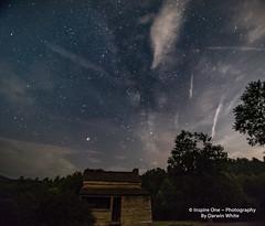 Lawson Milky Way-9714 (Inspire One Photography by Darwin White) Tags: milkyway stars nightscene nightphotography historical greatsmokymountainsnationalpark cadescove darwinwhitephotography