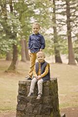 Brothers (The Wanderlust Wildflower) Tags: boys brothers portrait oregon forest portlandia portland pnw