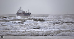 Stolt Osprey Inbound (Give her a wave) (alundisleyimages@gmail.com) Tags: rivermersey stolttankers storm waves sea maritime wirral liverpool shipping tanker oil chemical goods transportation ports harbours nautical bokeh nikon sigma merseyside weather