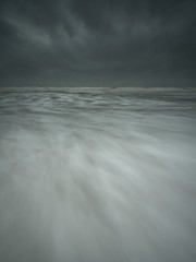 Another approach (www.peterhenryphotography.com) Tags: water sea coast beach waves tide sky storm stormy cloud stbees cumbria